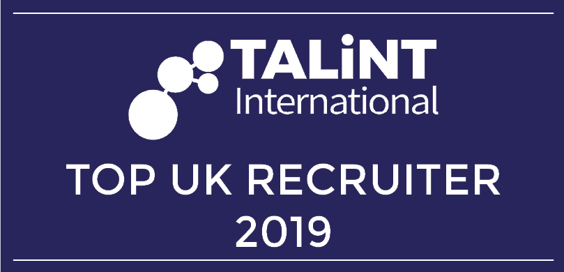 Top UK Recruiter 2019 logo